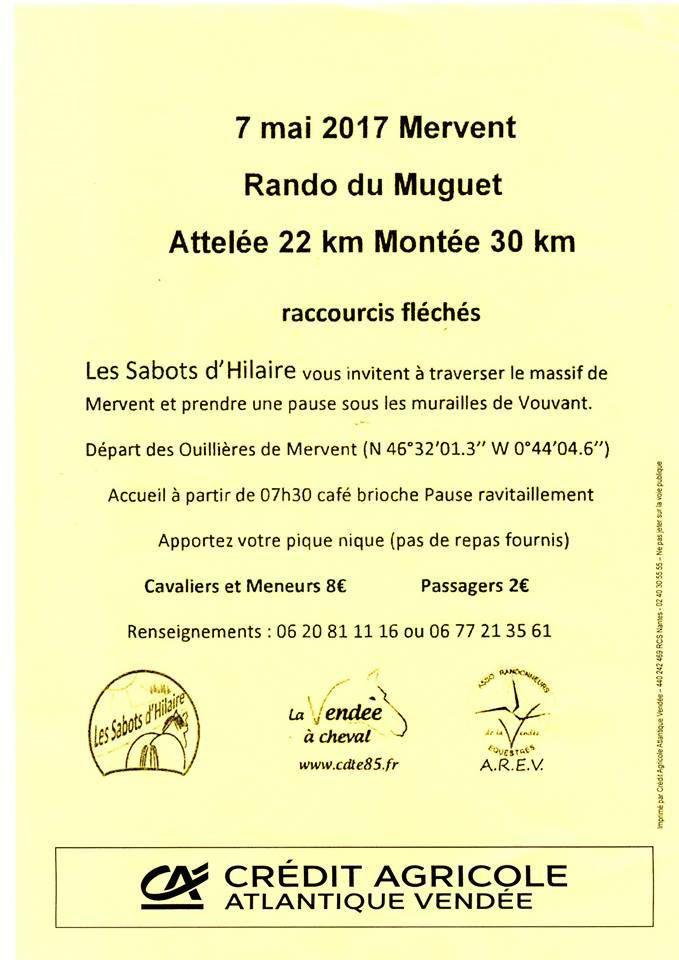 Rando à Mervent (85) dimanche 7 mai 2017