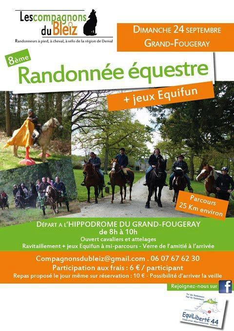 Rando au Grand-Fougeray (44) dimanche 24 septembre 2017