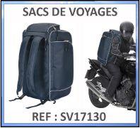 Sac à dos de voyage spécial motards Polyester 1680D - Ref : SV117130
