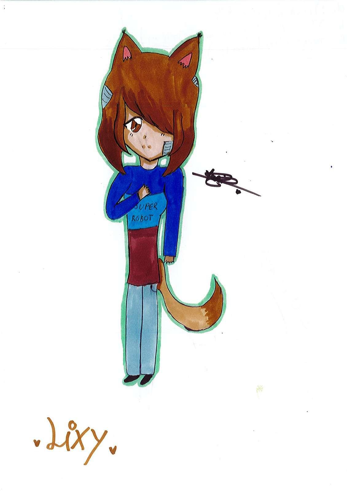 Un dessin de Liséa