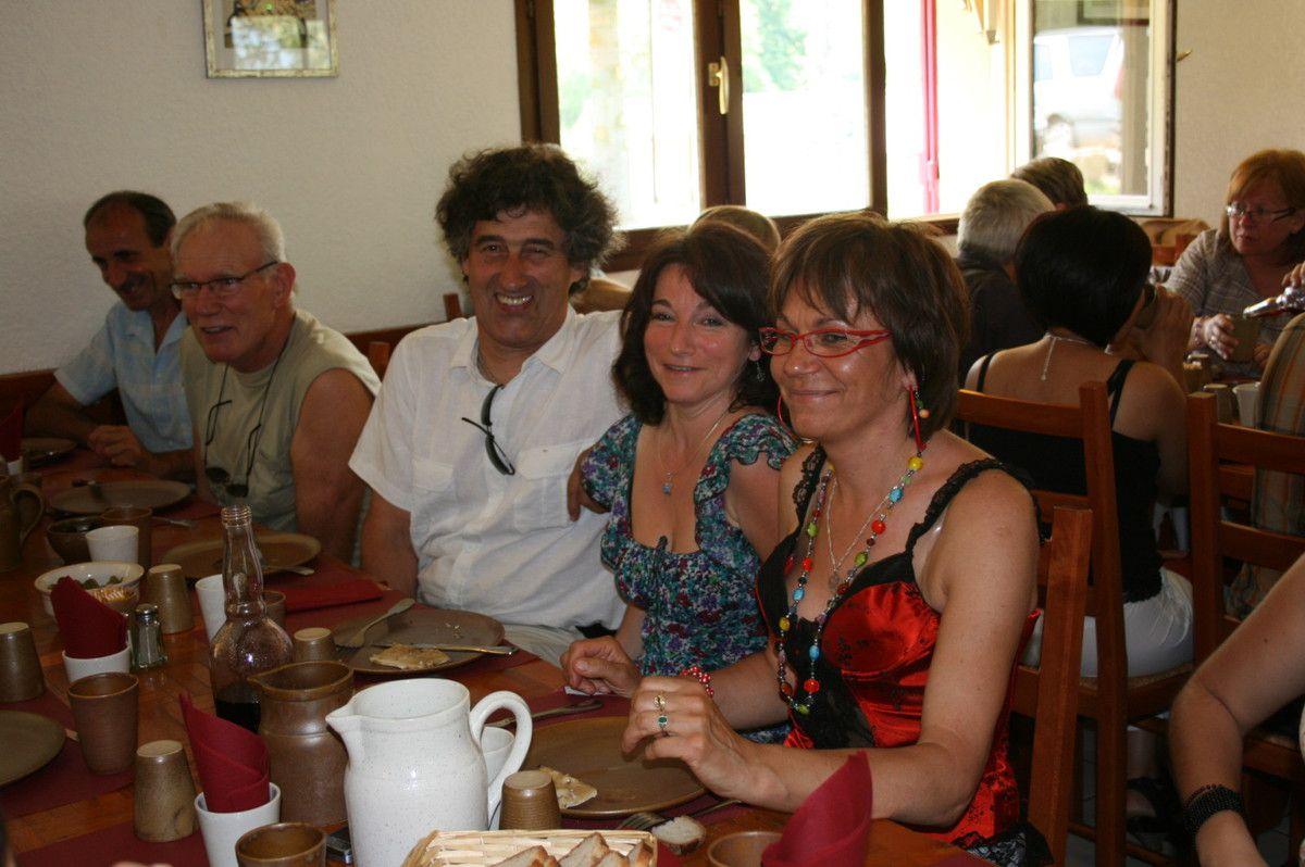 2010 repas de Burgy en mai