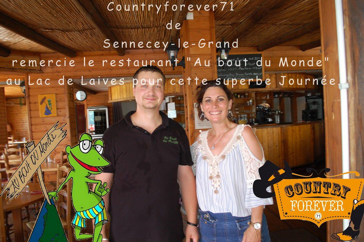 fin d'une année chez COUNTRY FOREVER71 après L'AG  suivi d'un restaurant au lac de Laives.