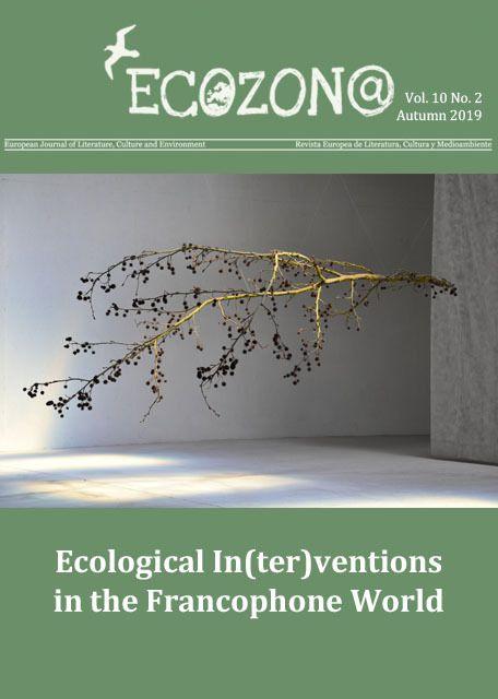 Publication dans la revue européenne Ecozon@, littérature, culture et environnement