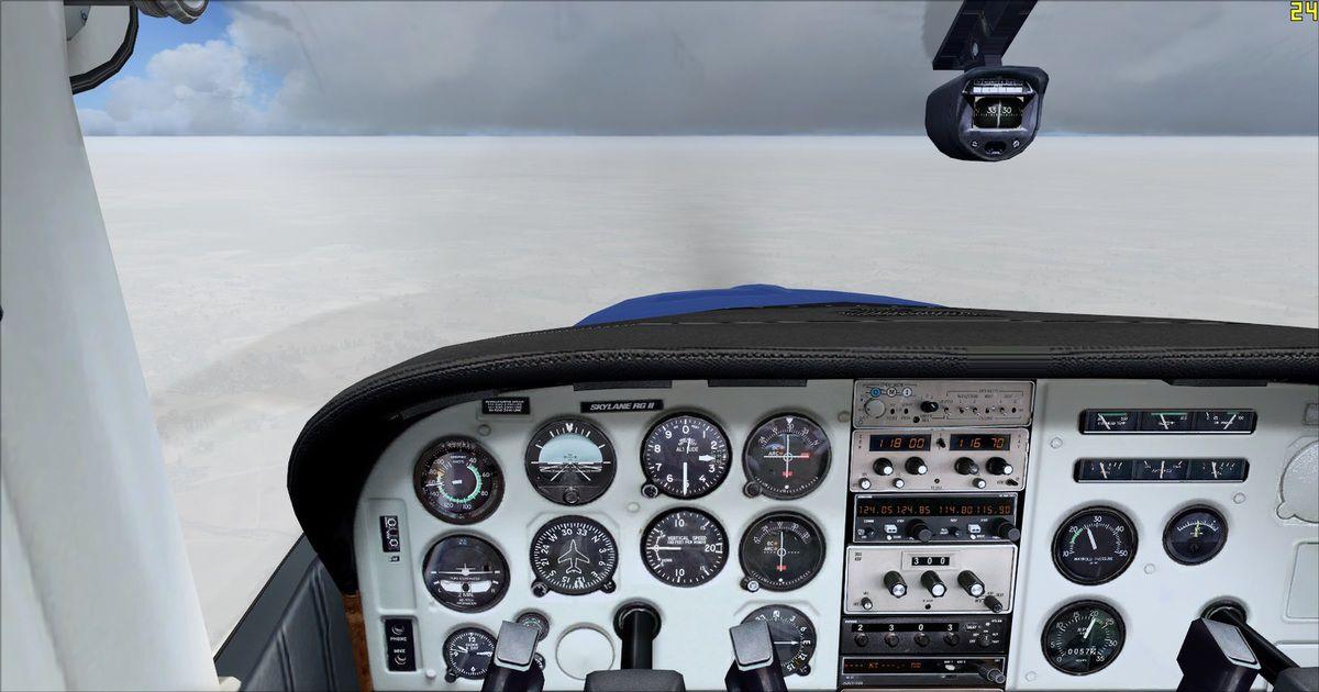 Visibilité nulle au sol, les Avyateurs continuent leur vol en VFR sous le contrôle de Tyto31...
