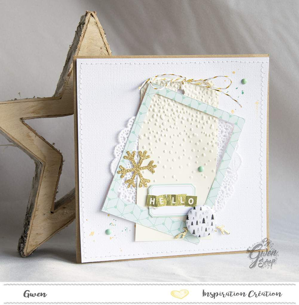 "Carte ""Hello"" {DT Inspiration Création}"