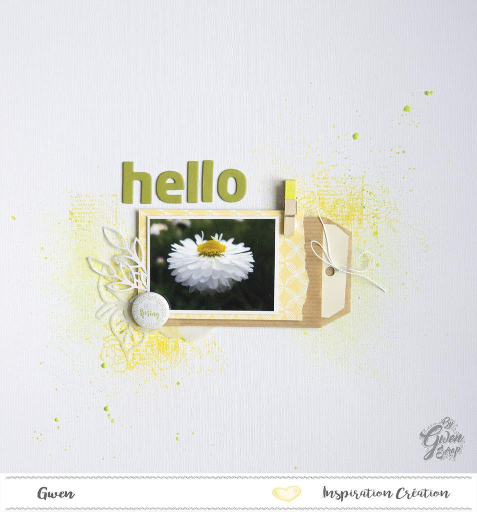 Hello Spring {DT Inspiration Création}