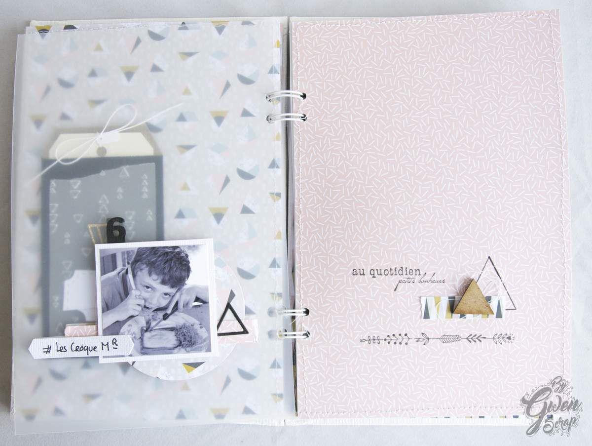 Love - Mini-album / Atelier / Kit {Les Ateliers Simplement Scrap}