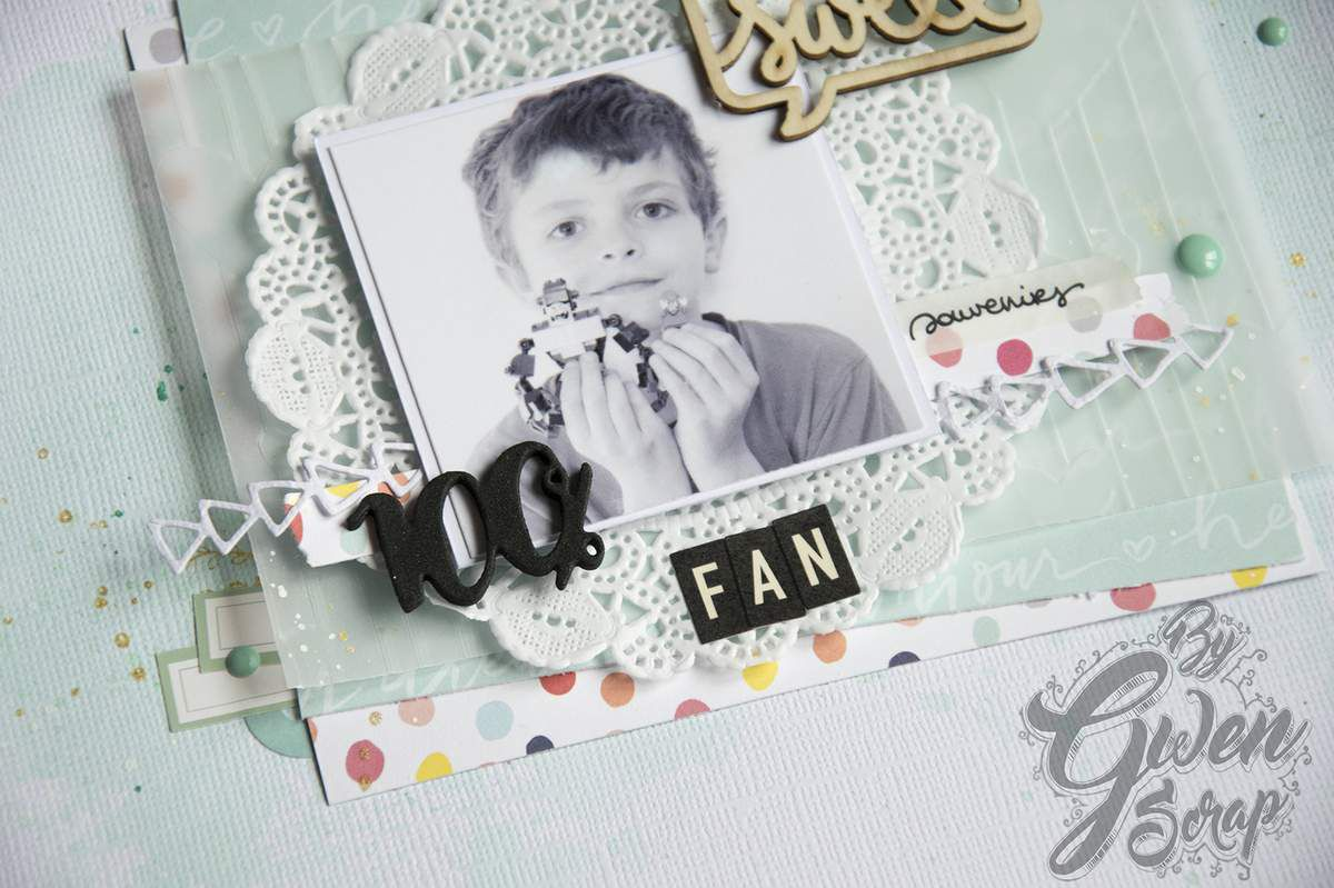 100 % FAN {DIY & Cie}