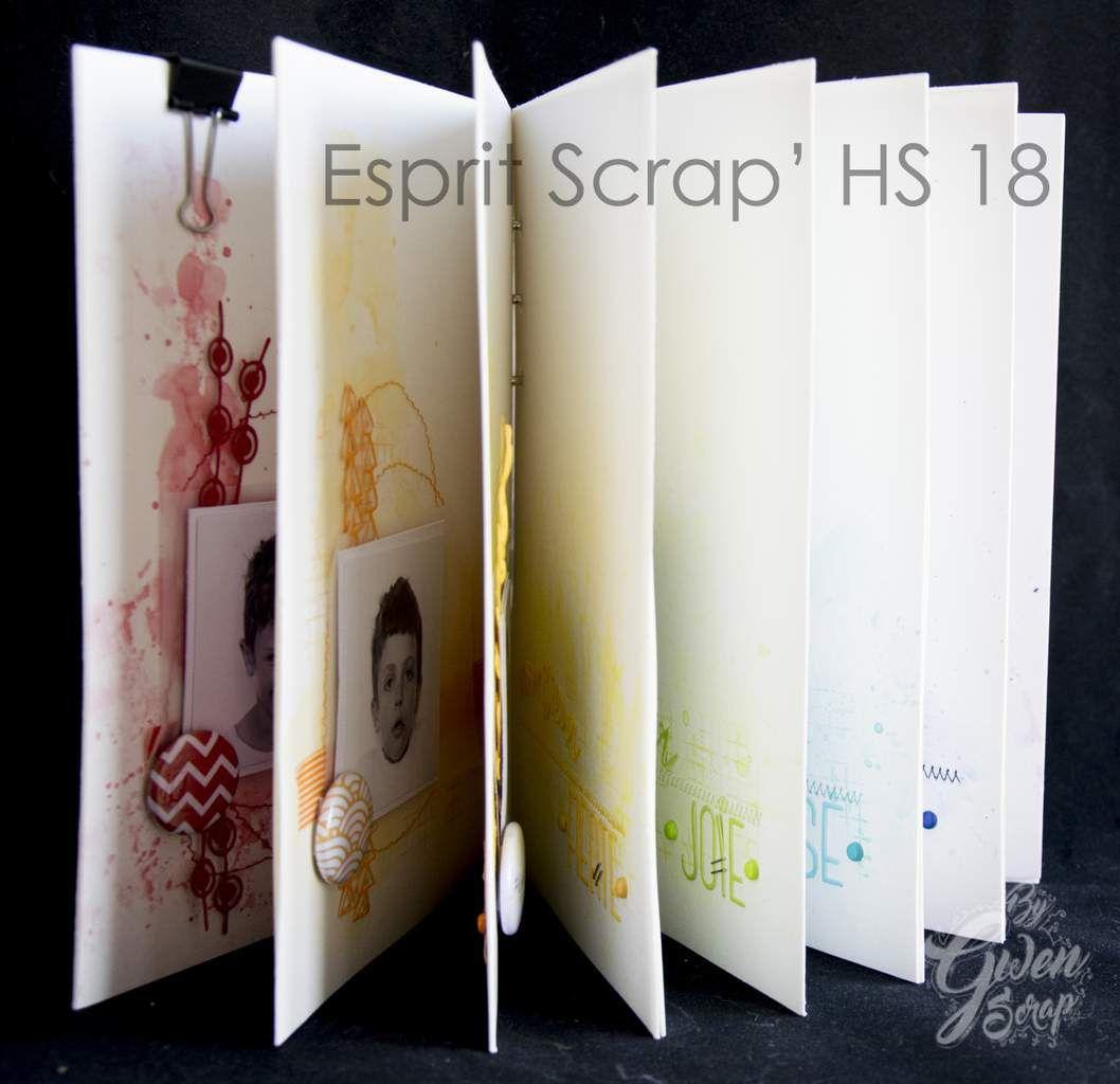 Esprit Scrap' Hors Série N°18