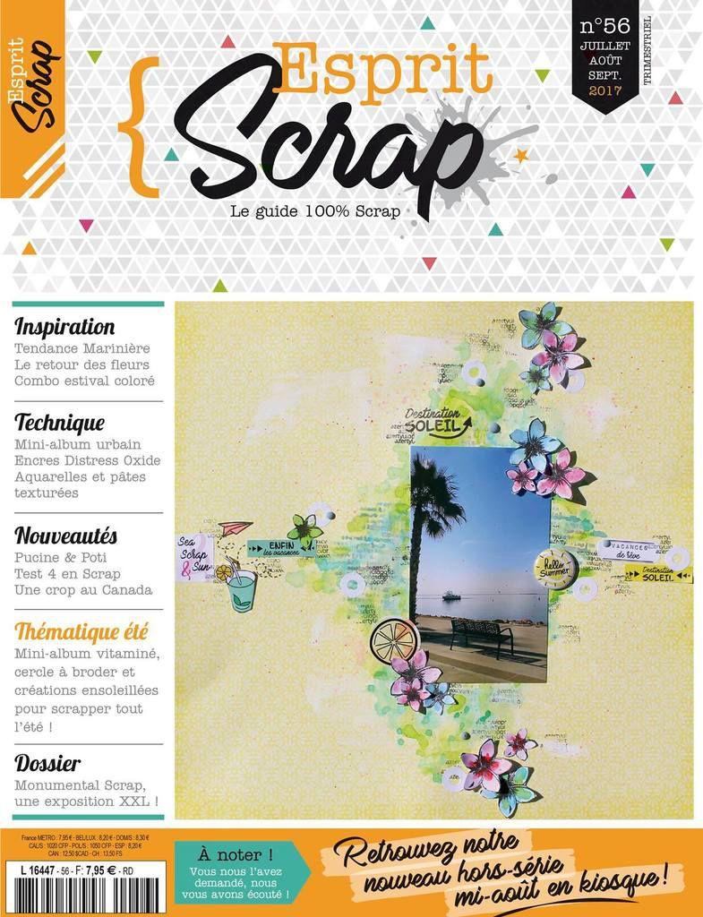 Retour sur...Esprit Scrap' 56 - Eté 2017 (2)