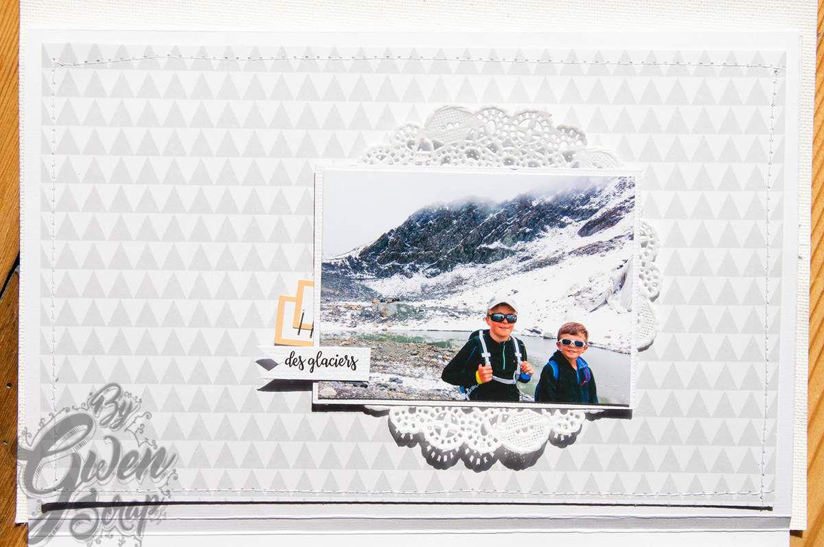 La montagne en été - Mini-album et pas à pas en pdf {DT Inspiration Création}