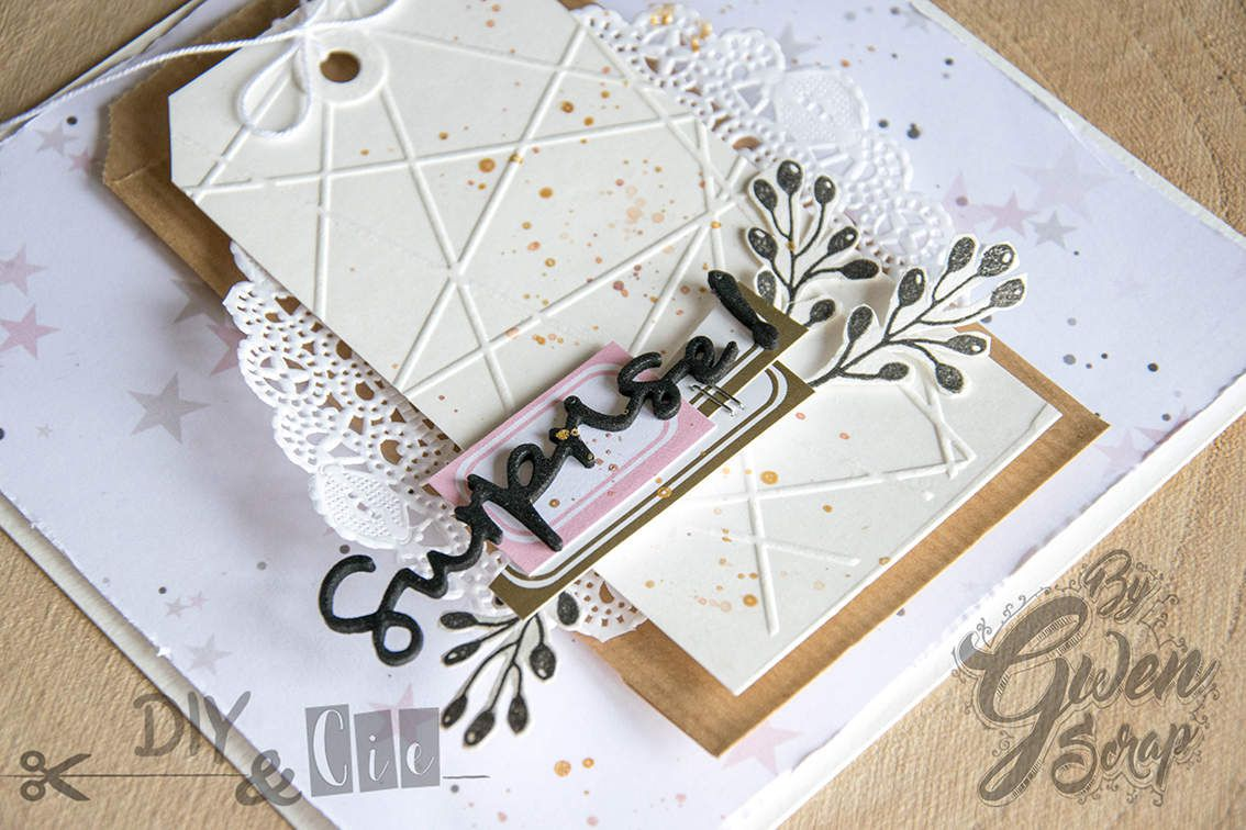 "Carte ""Surprise"" {Make and Take Version Scrap Paris 2018 - DIY & Cie}"