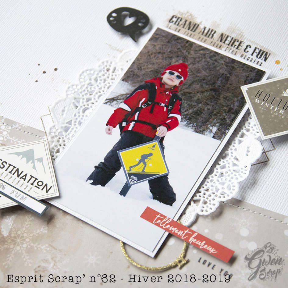 Retour sur...Esprit Scrap' n°62 - Sketch {DT Esprit Scrap'}