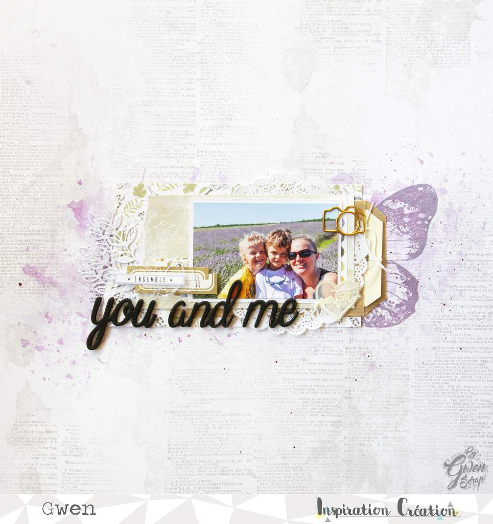 You and me {DT Inspiration Création}