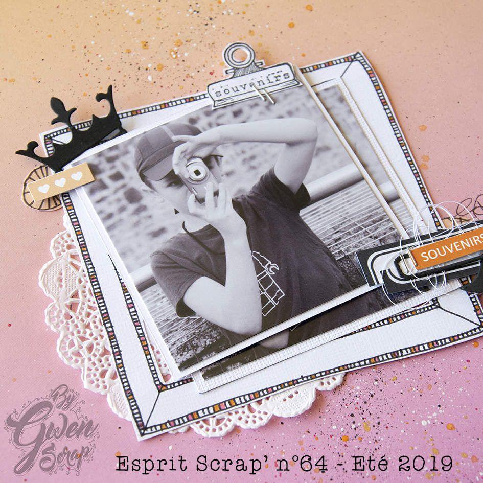 Retour sur...Esprit Scrap' n°64 1/4 | Page | DT Esprit Scrap'