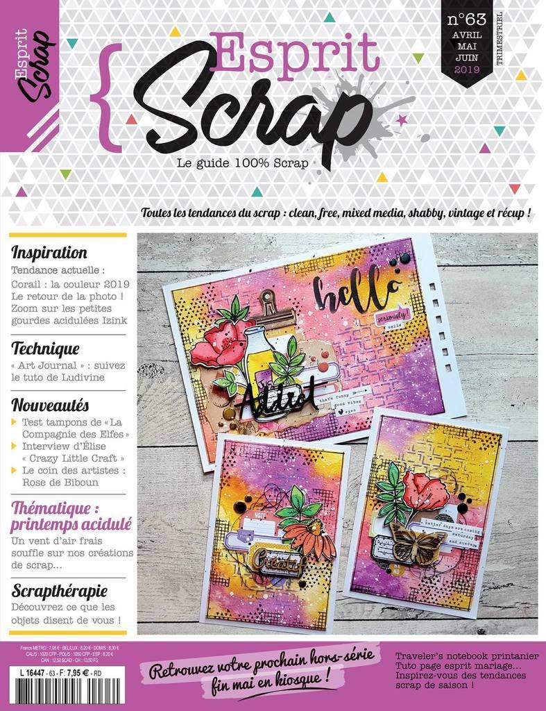 Retour sur...Esprit Scrap' n°63 2/4 | Page | DT Esprit Scrap'
