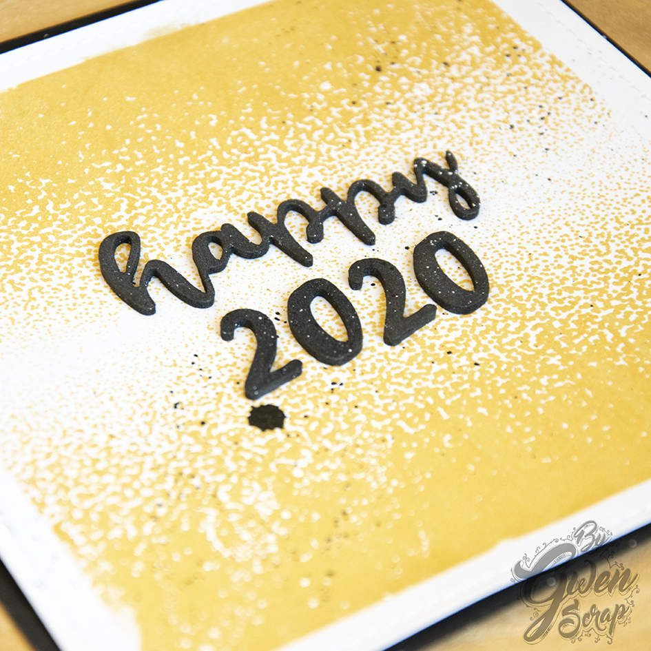 Happy 2020 | Carterie | DT DIY & Cie