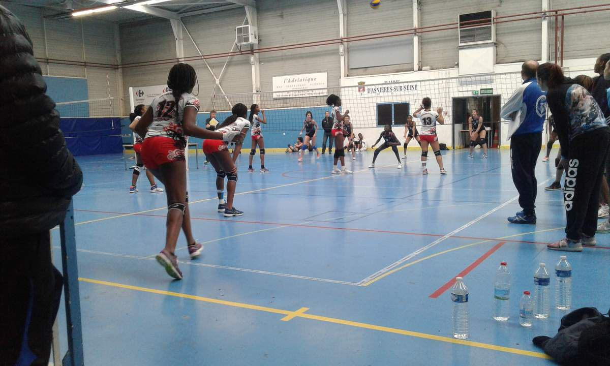 AS Volley semaine du 12 au 16 novembre