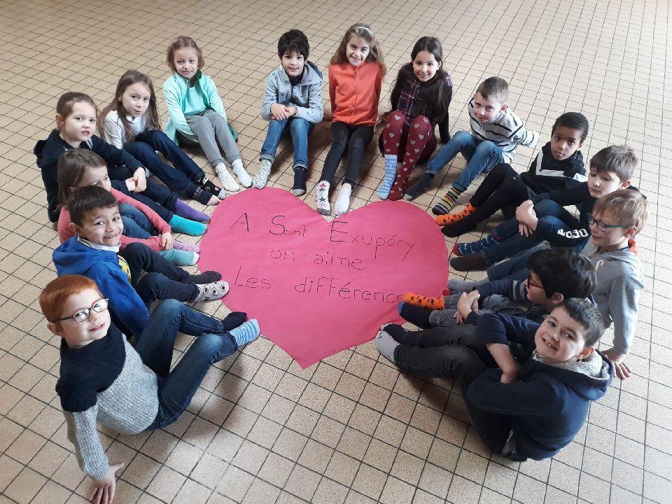 A l'école Saint Exupéry, on aime les différences!