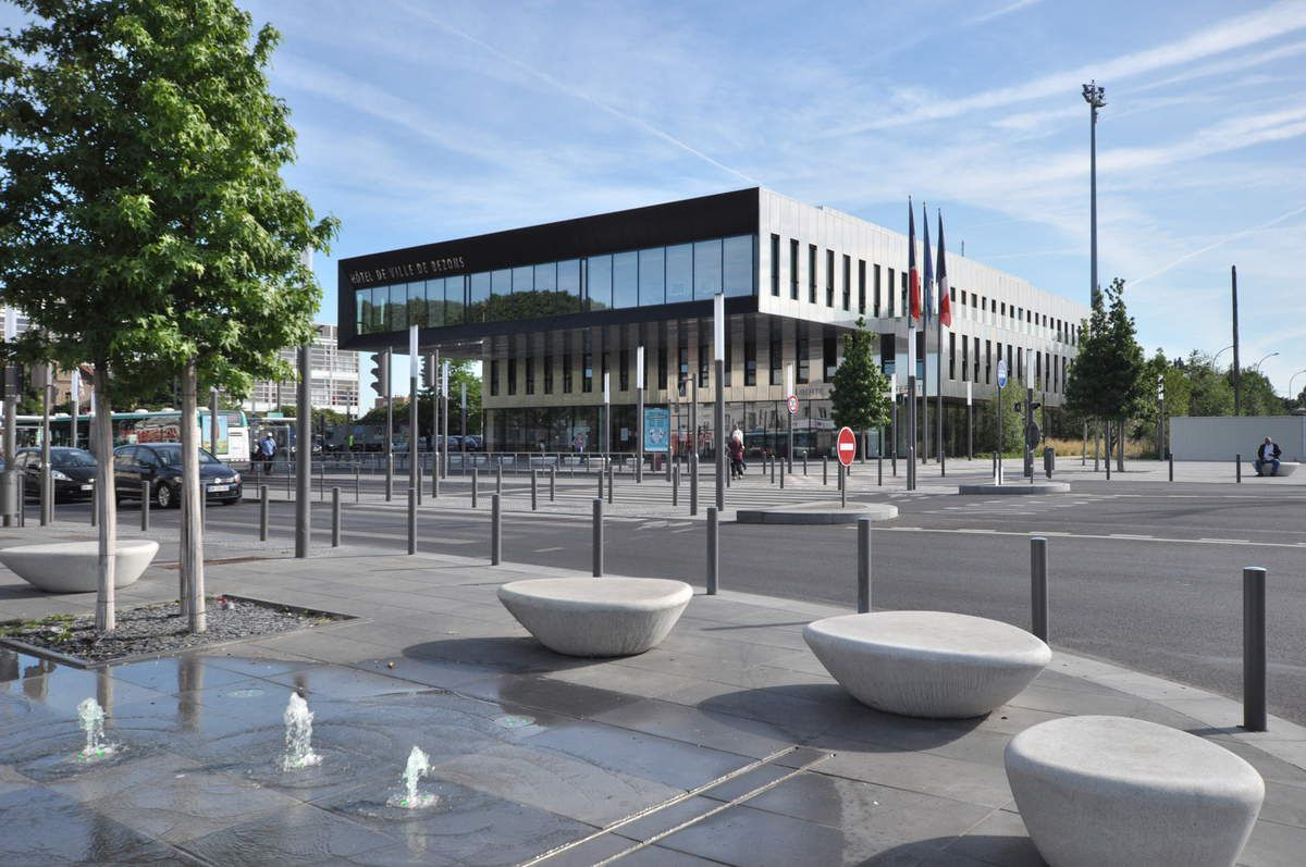 L'Hôtel de Ville de Bezons (95)