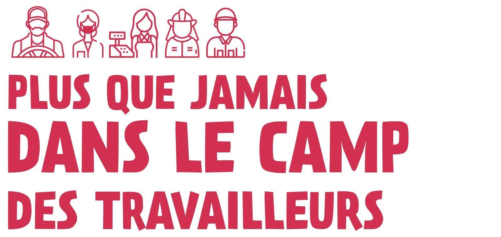 LE 1ER MAI 2020, PENDANT ET APRÈS LE CONFINEMENT, LA GAUCHE RÉPUBLICAINE & SOCIALISTE EST PLUS QUE JAMAIS DANS LE CAMP DES TRAVAILLEURS