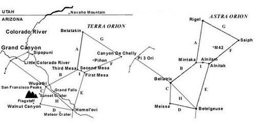 le miroir Orion-Territoire Hopi, dr
