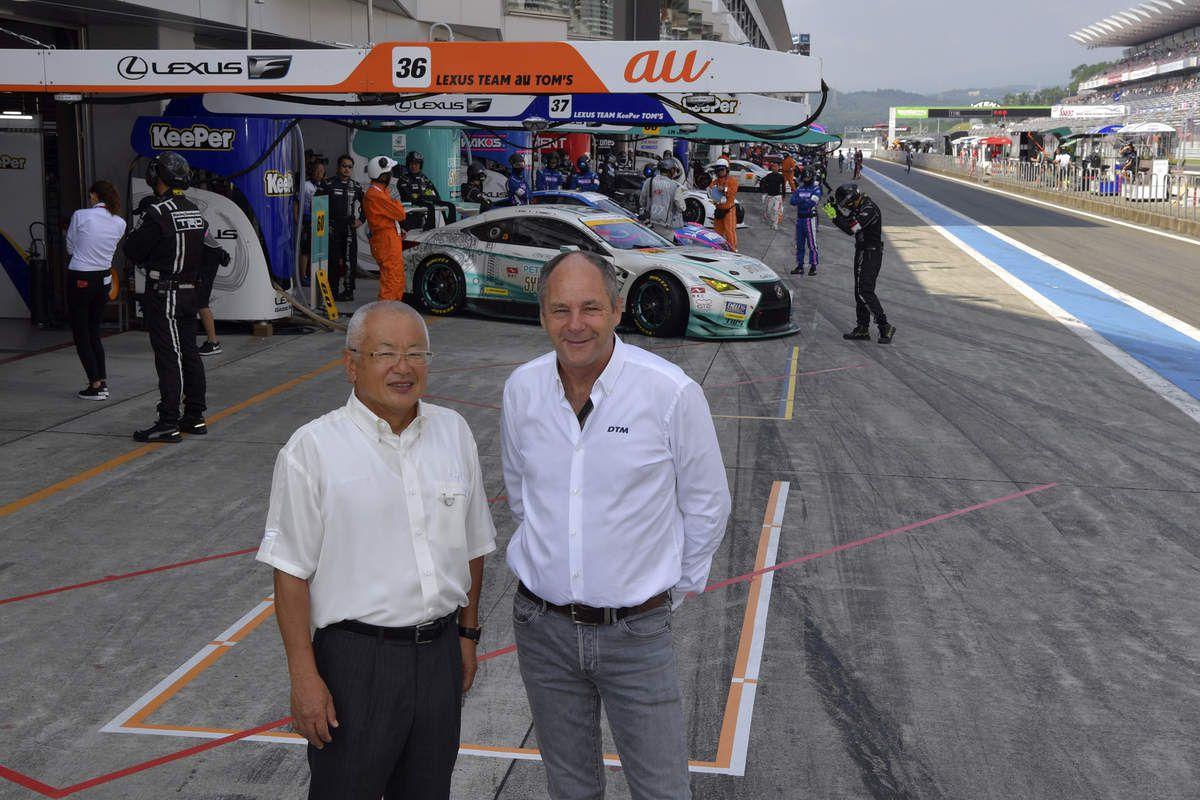 Masaaki Bandoh-Gerhard Berger Fuji Speedawy