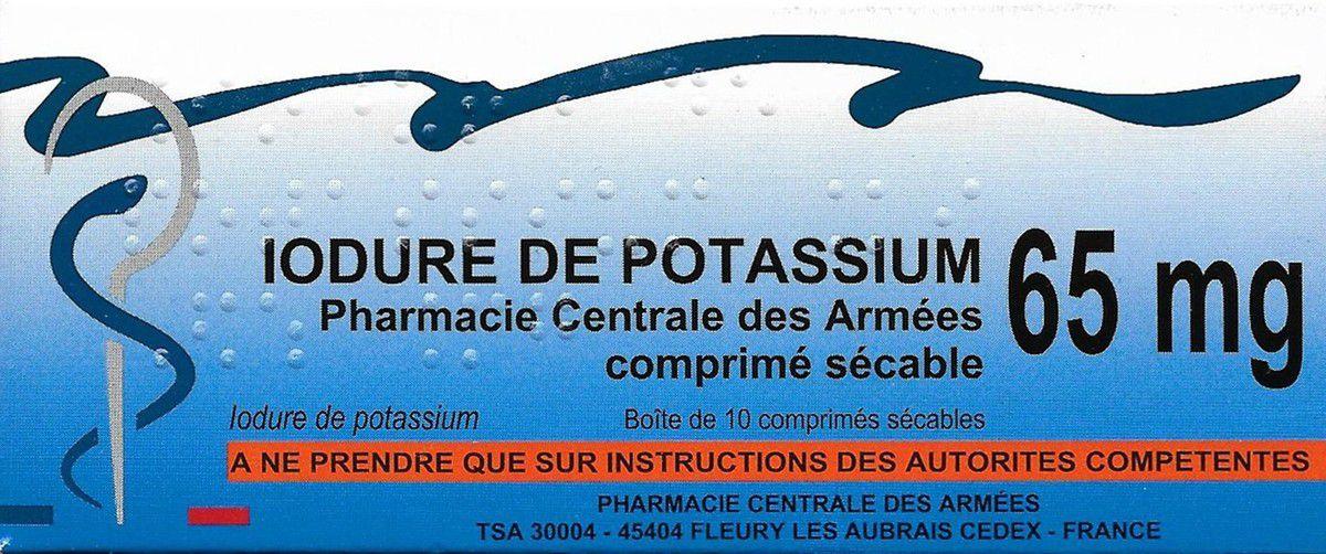 Distribution de comprimés d'iode stable aux riverains de la centrale nucléaire de Saint-Alban