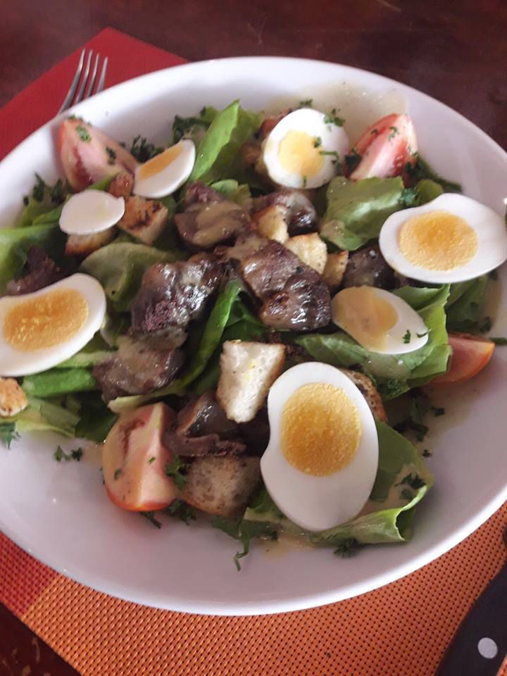 HOT GIZZARDS SALAD