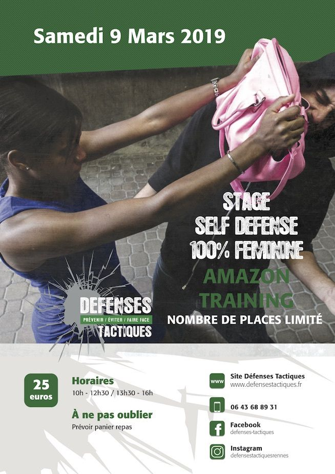 Stage Amazon training samedi 9 Mars 2019 Cesson sévigné
