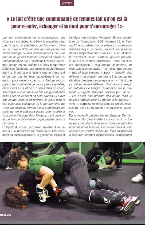 Reportage sur l'amazon training par le magazine yegg