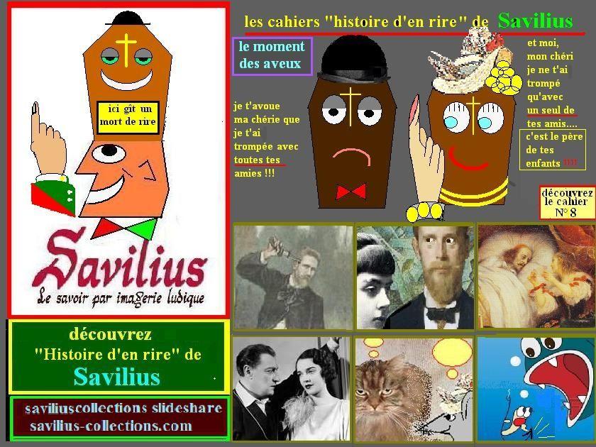 histoire d'en rire de Savilius