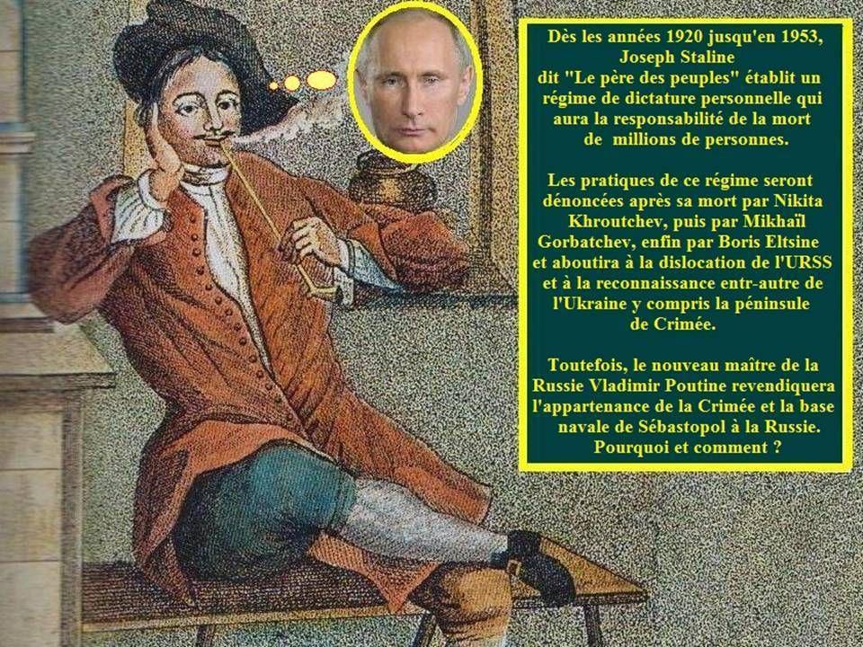 Le Rêve russe des Tsars à Poutine 2ème partie