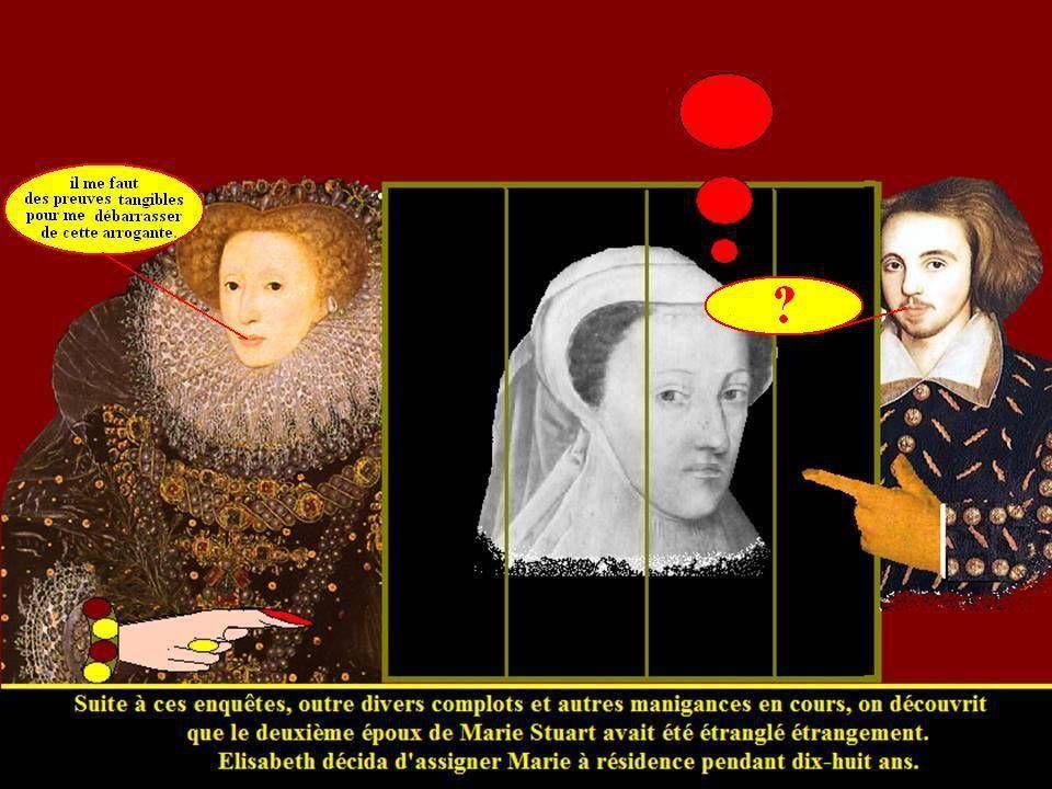 Marie Stuart piégée par Elisabeth