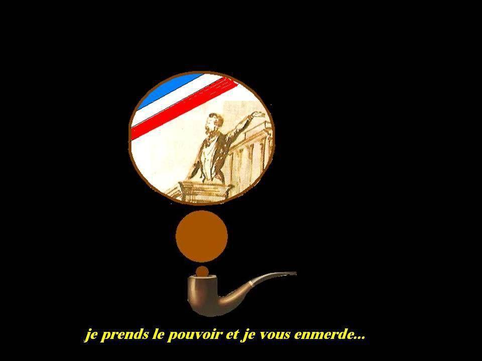 Victor Hugo fustige Napoléon III