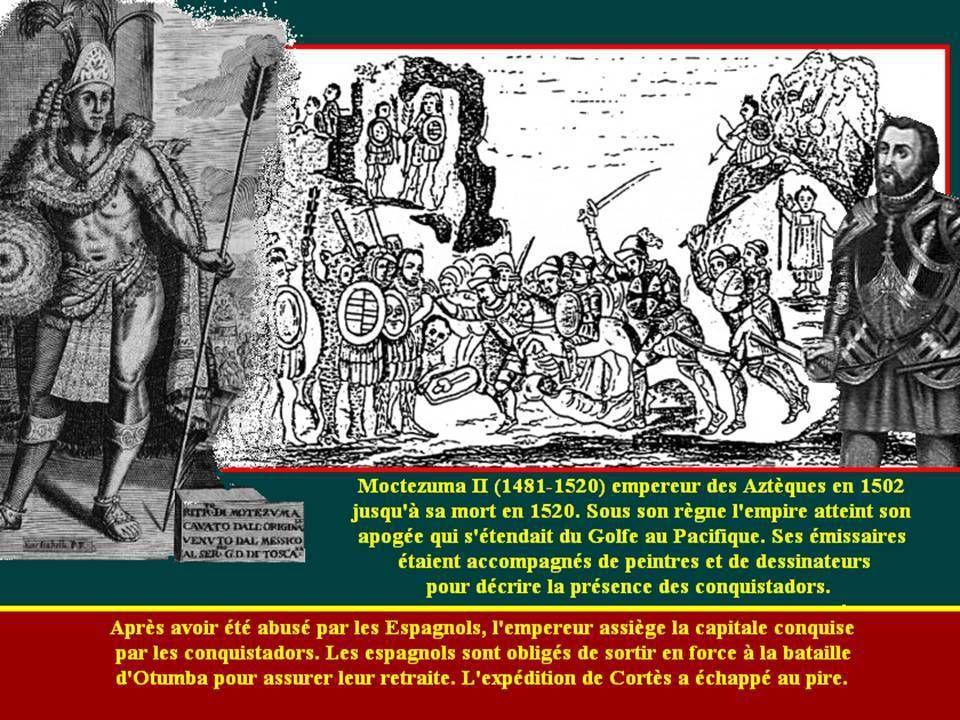 Les conquistadors colonisateurs cruels