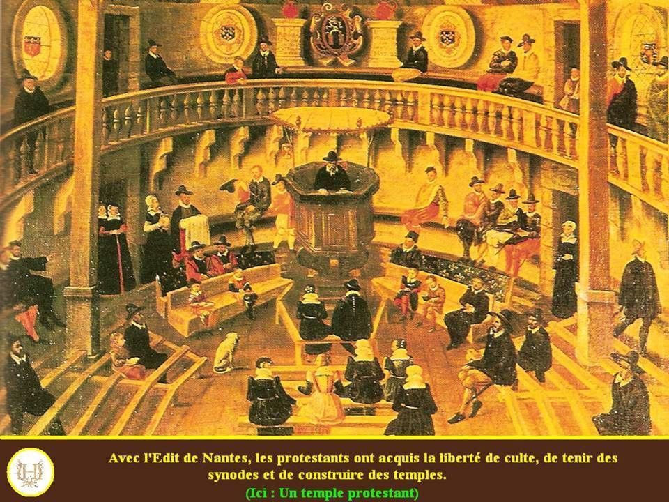 La fin de la puissance protestante française