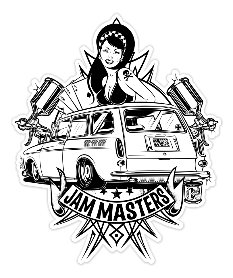 Logo design for JAM MASTER - USA 2020