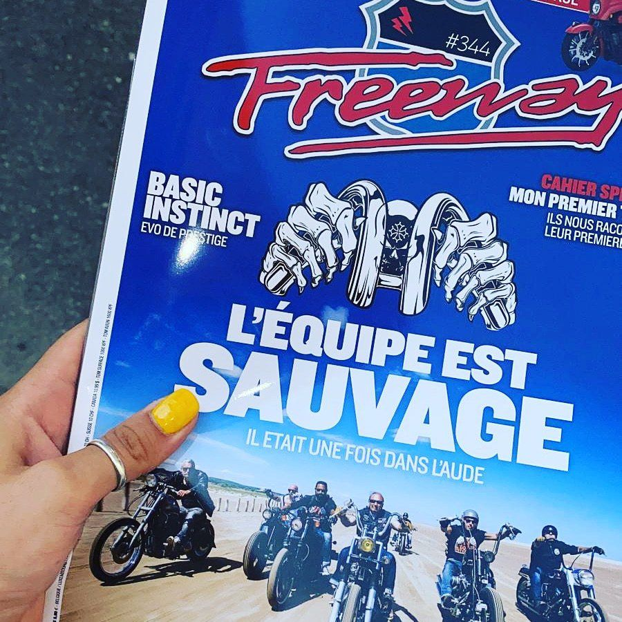 COUVERTURE & ARTICLE FREEWAY MAGAZINE !!!