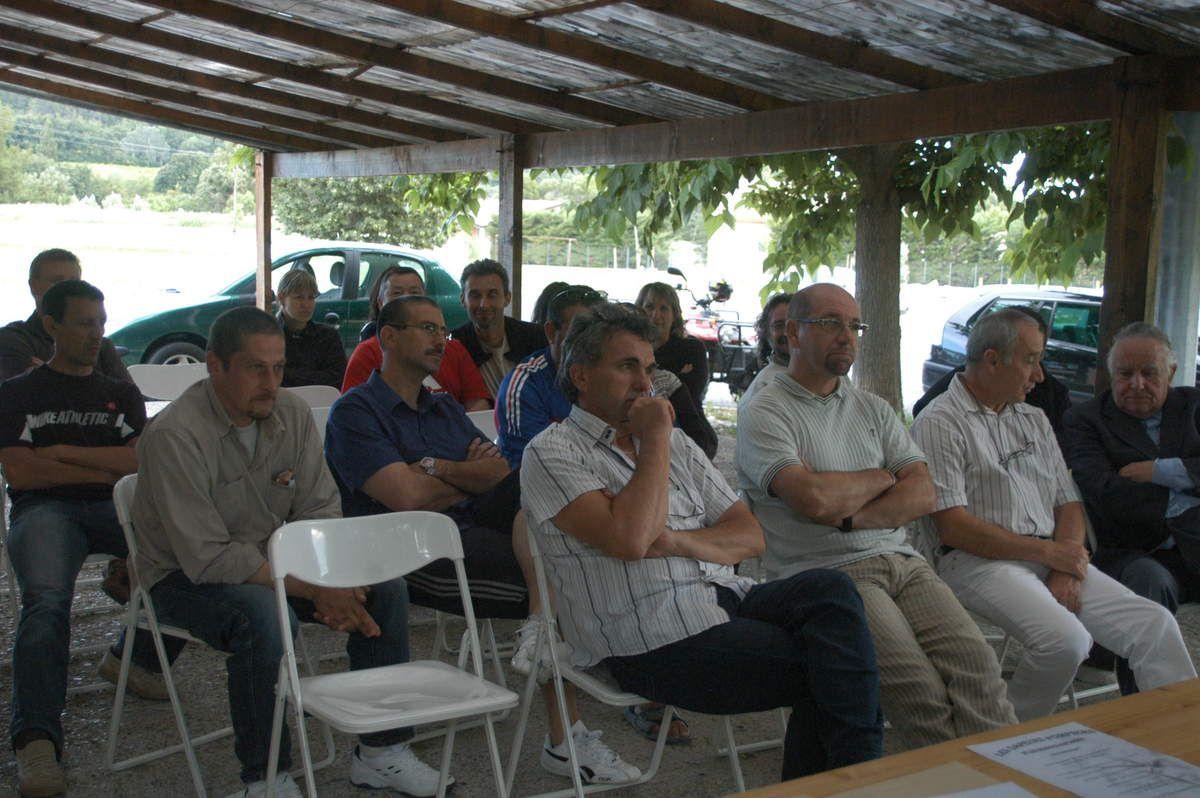 le vendredi 13 juin 2008 -18h00- Assemblée Générale de Vence et Berre