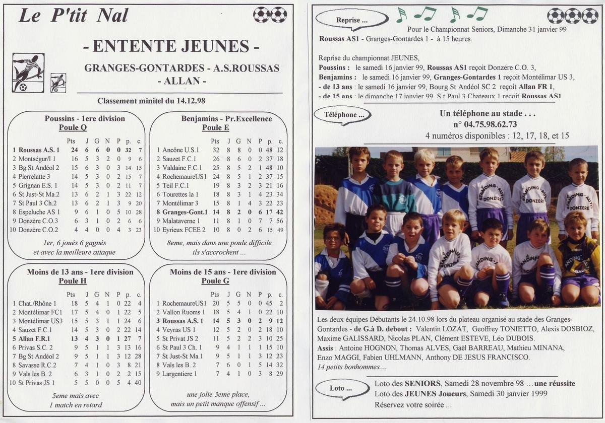 Album - saison-19-1998-1999-Le-P-tit-Nal - n°18 au n°20