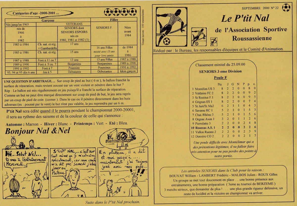 Album - saison-21-2000-2001-Le-P-tit-Nal - n°22