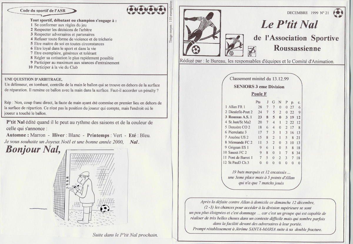 Album - saison-20-1999-2000-Le-P-tit-Nal - n°21 au n°22