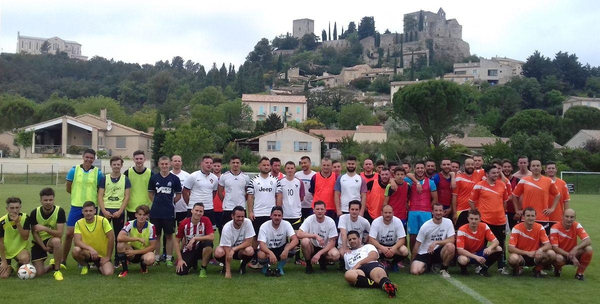 Fafa 3 juin 2017, Tournoi football le matin, pétanque l'après-midi et retransmission finale Ligue des champions de l'UEFA : Juventus 1 - Réal : 4