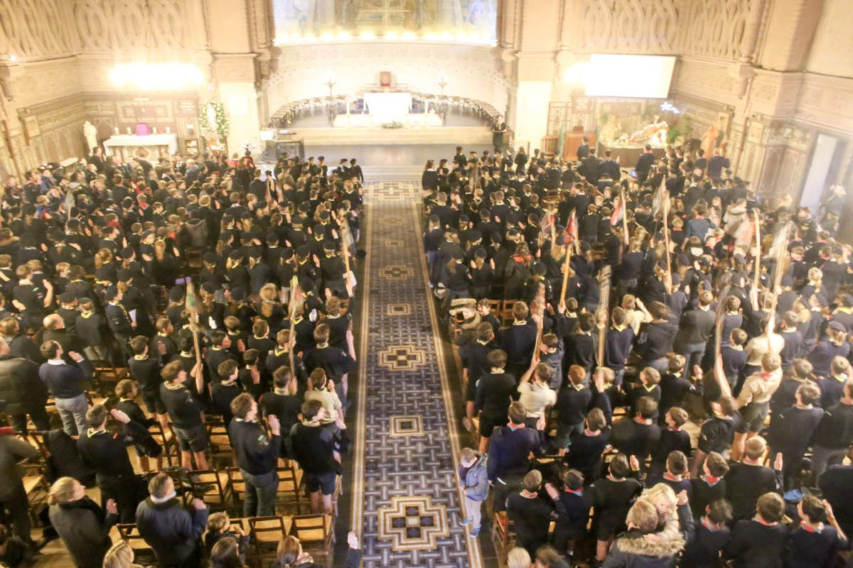Photo de la Messe de District - Décembre 2016