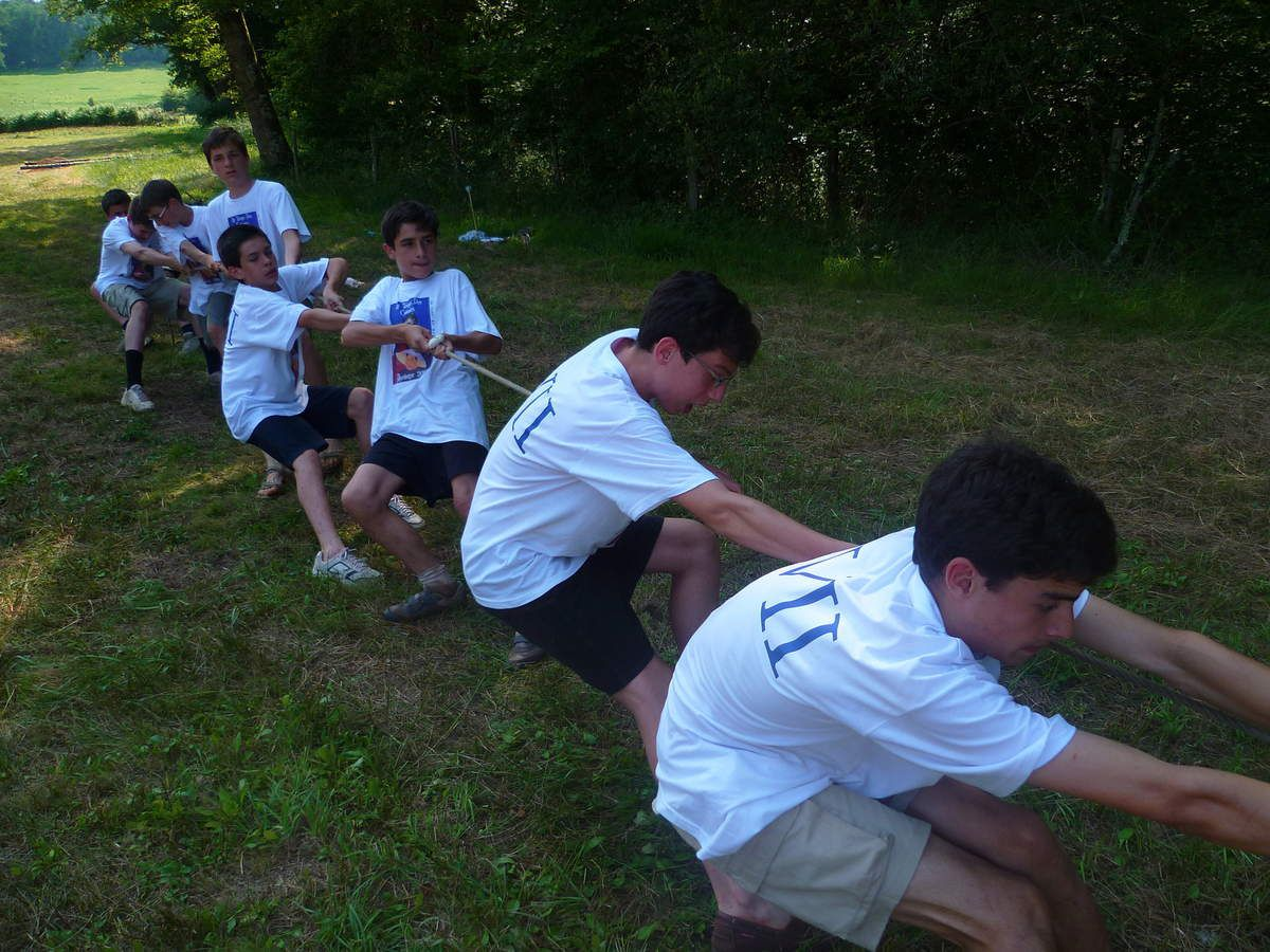 Photos camp Troupe 2010 - Dordogne