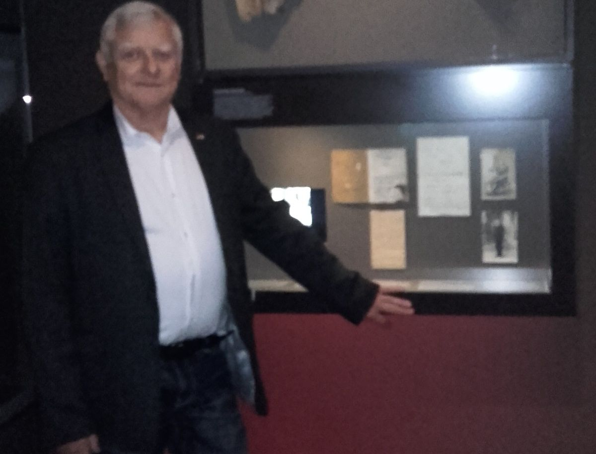 Francis Boulouart au Haus der Geschichte à Stuttgart !