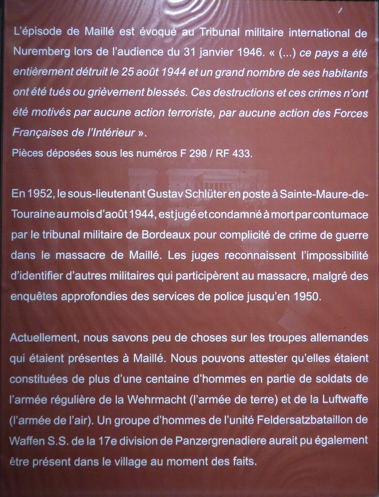 Un massacre oublié : Maillé 25 août 1944