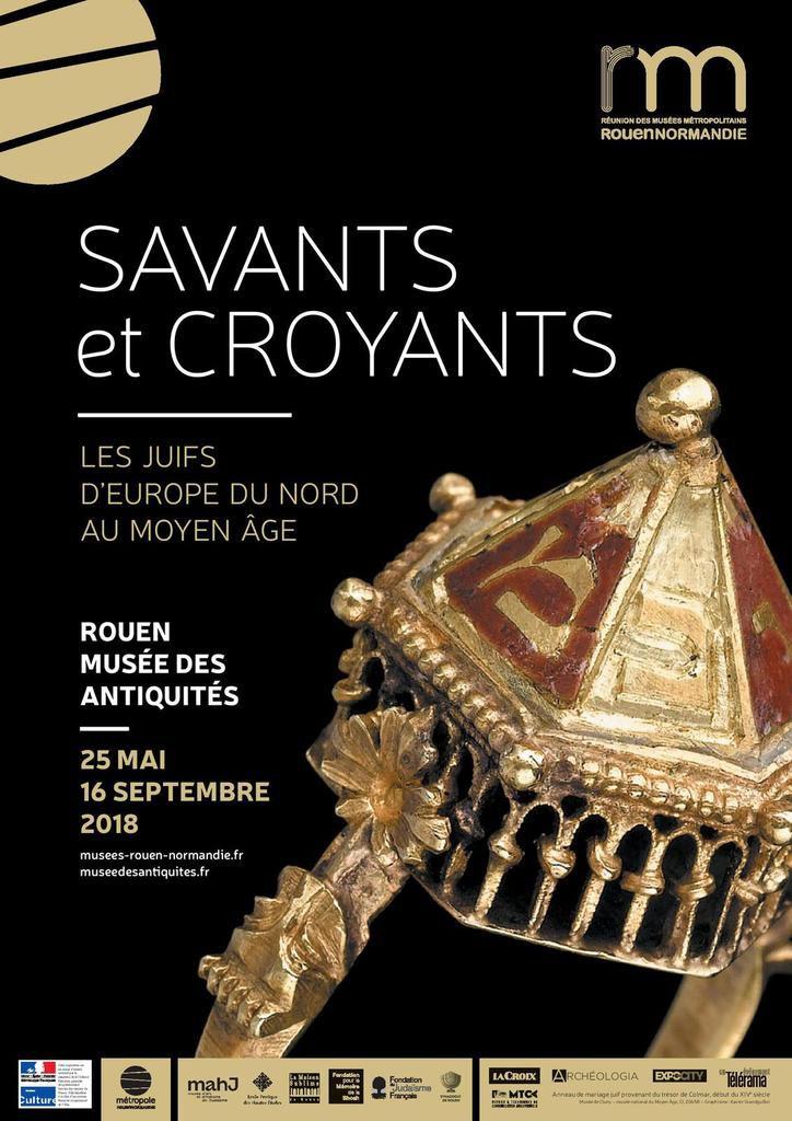 Visite guidée de l'exposition SAVANTS ET CROYANTS : LES JUIFS D'EUROPE DU NORD AU MOYEN-AGE