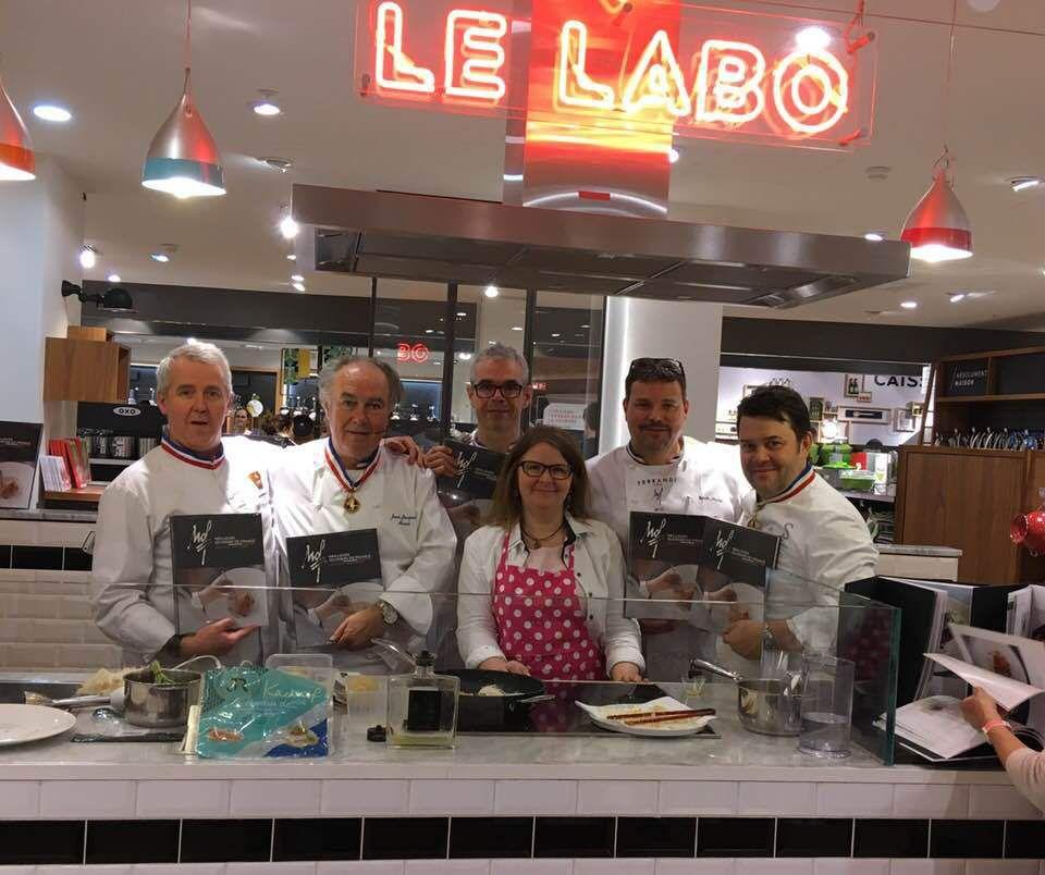 Cinq meilleurs ouvriers de France en démonstration ! - Anne Martinetti